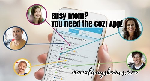 Cozi Family Organizer for the Busy Mom- A Review