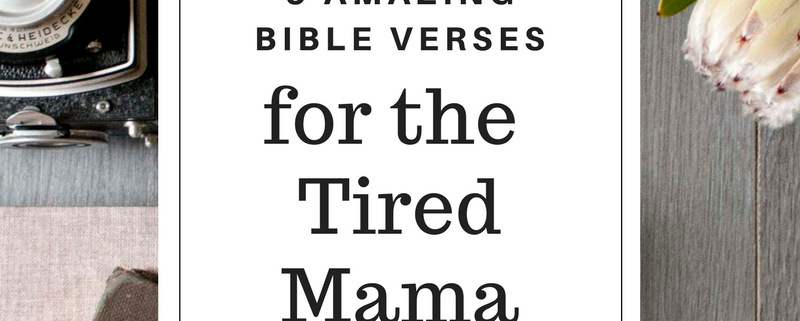 scripture verses for mom