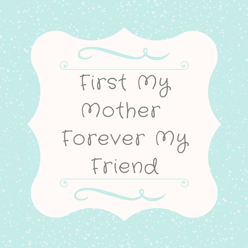 Free Aqua Shabby Chic Printable Gift idea- Just in time for Mother's Day-