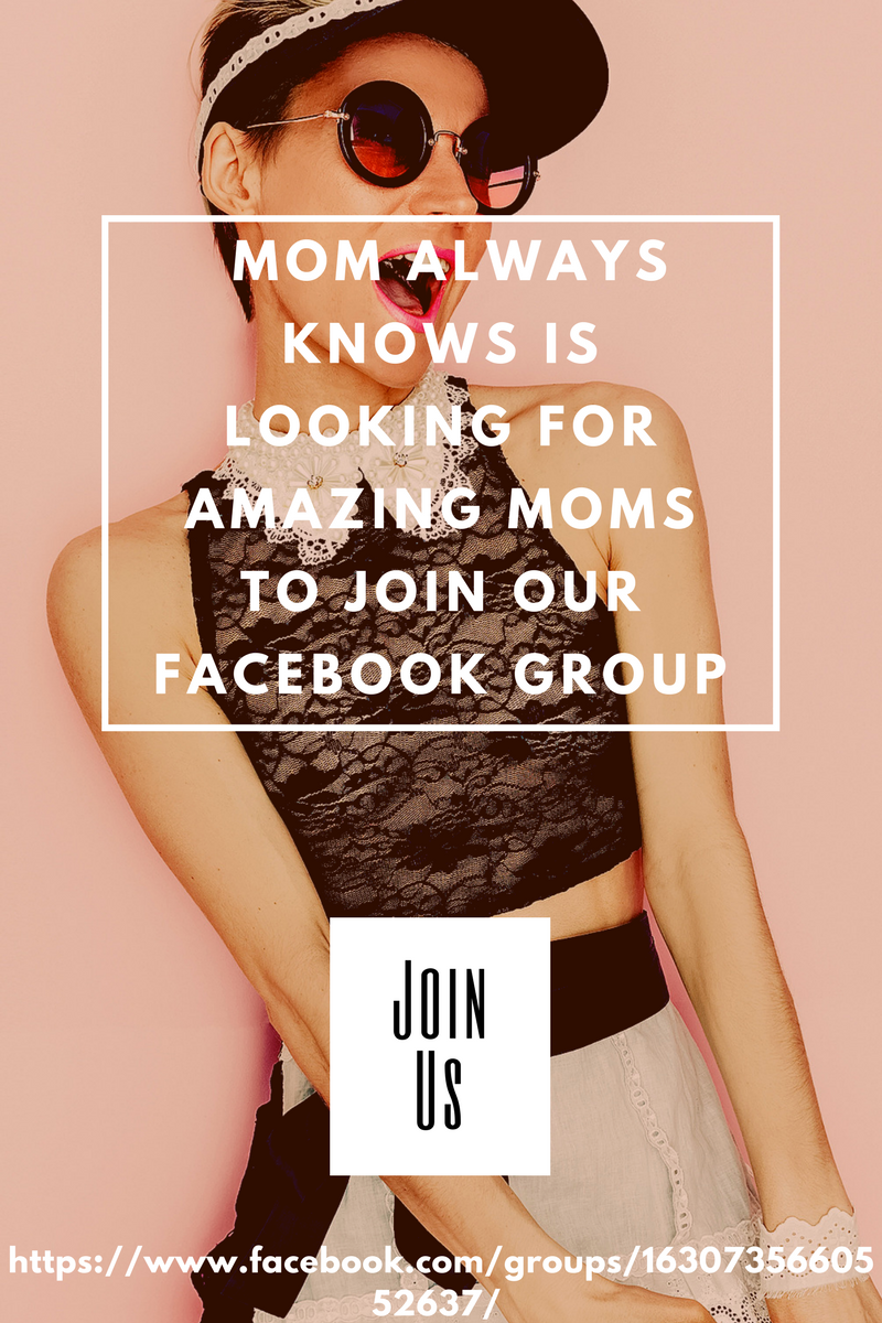 Looking for Amazing Mom's to Join our Facebook Group!