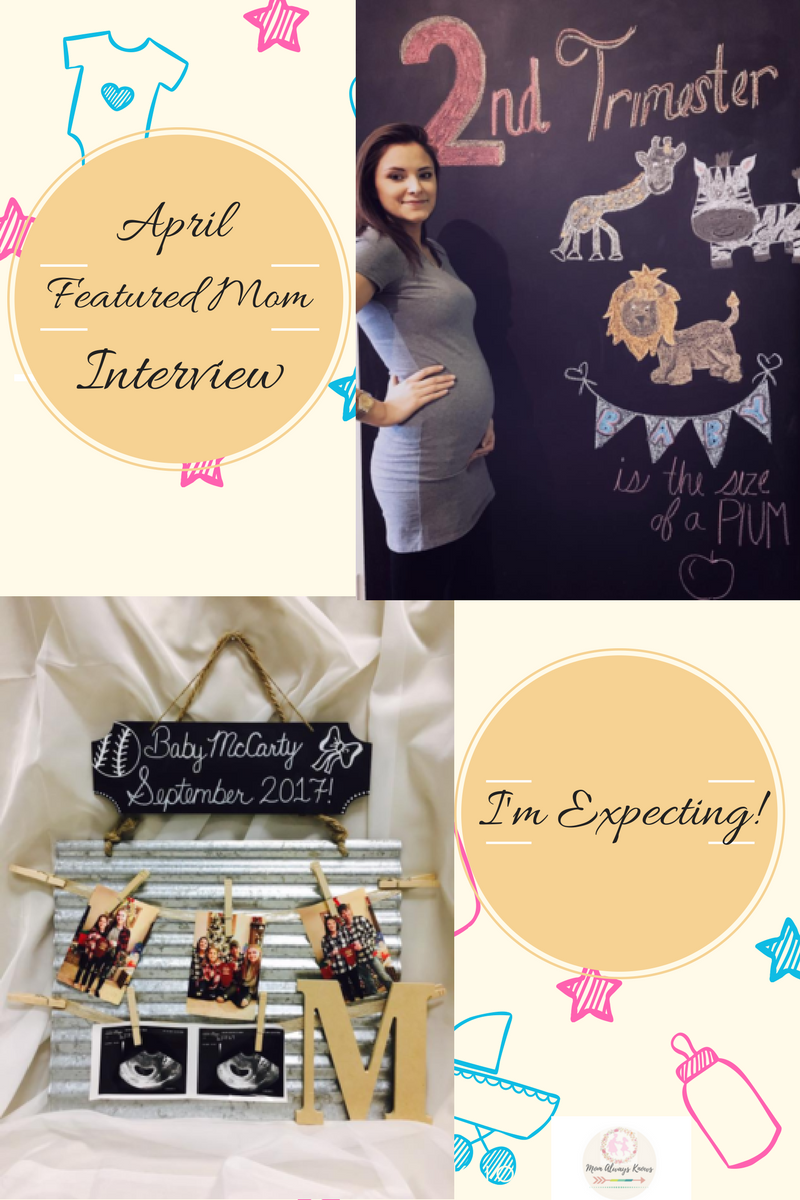 "Featured April Mom- ""I'm Expecting"" Mommy Interview"