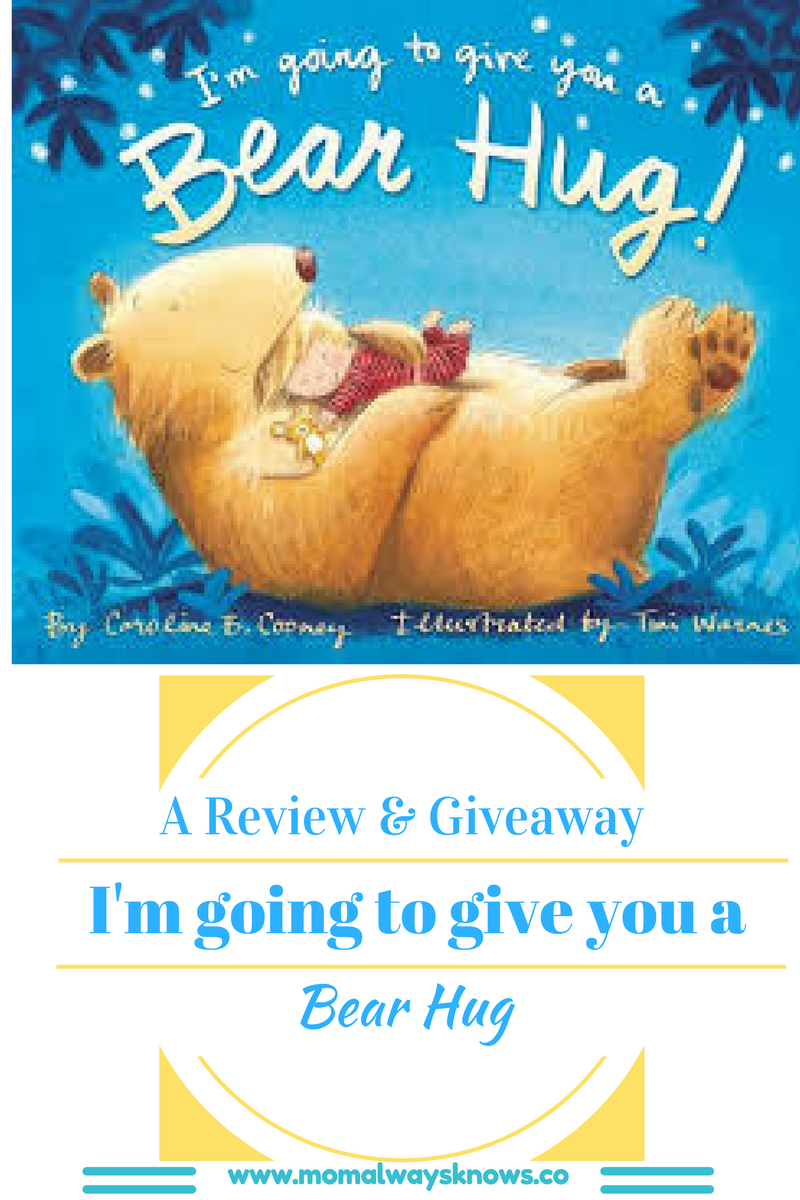 I'm Going to Give You a Bear Hug!  The Sweetest Little Book Review and Giveaway
