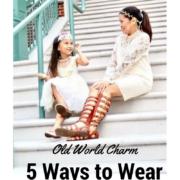 ways to wear white dress