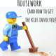 get kids to do chores
