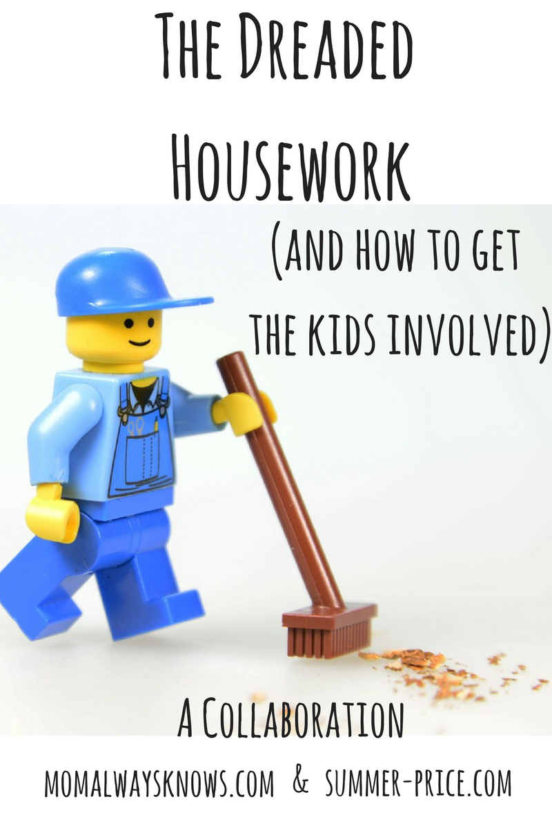 The Dreaded Housework (and how to get the kids involved!)