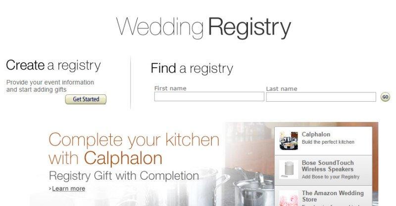 amazon wedding registry  sc 1 st  Mom always knows & Review of Amazonu0027s Wedding Registry-10 Great Benefits- Build the ...