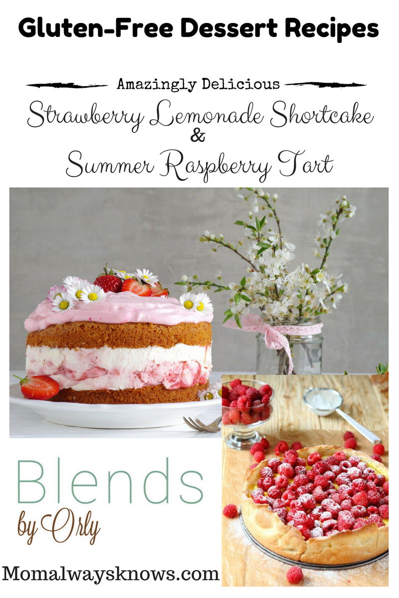 2 Amazingly Delicious Gluten-Free Dessert Recipes by Blends by Orly