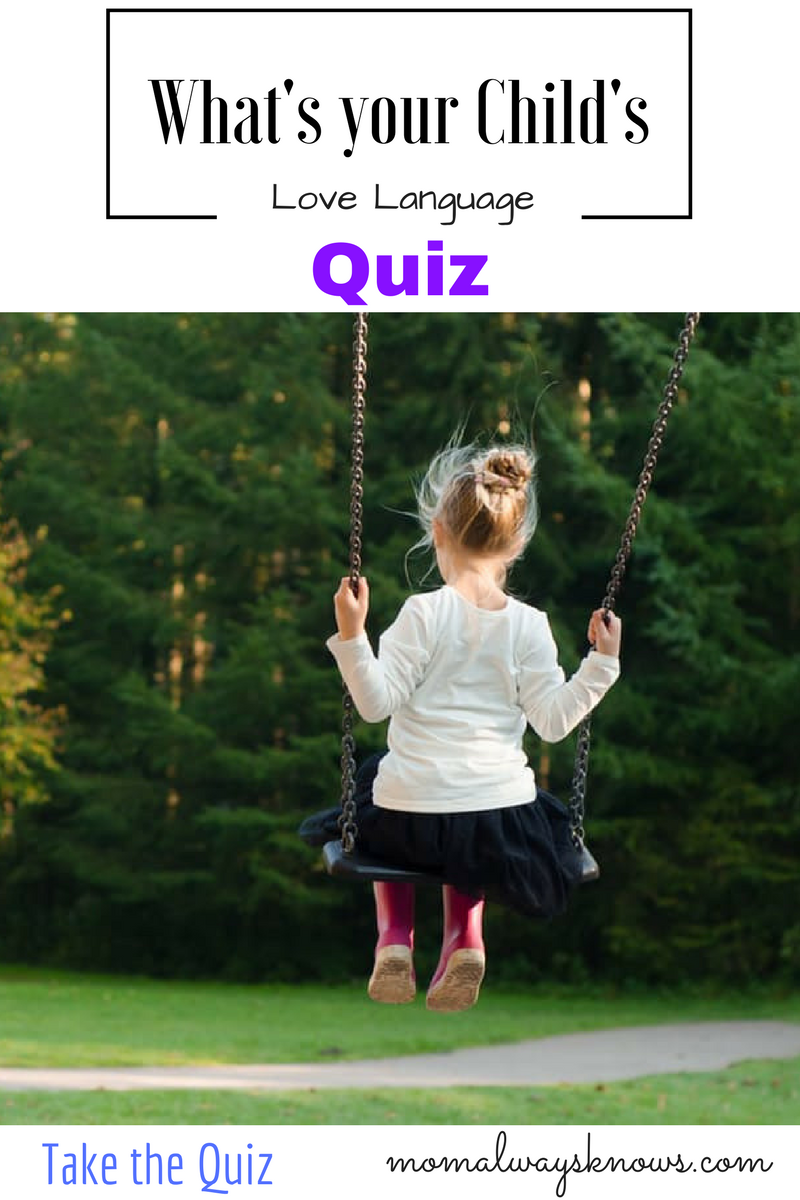 What's Your Child's Love Language Quiz