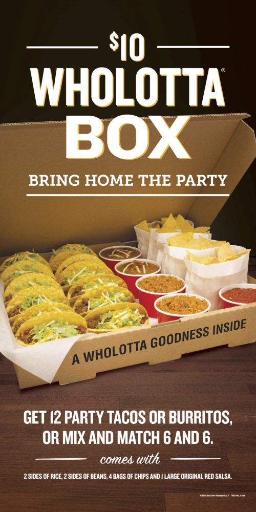 Taco Bueno Wholotta Box Review