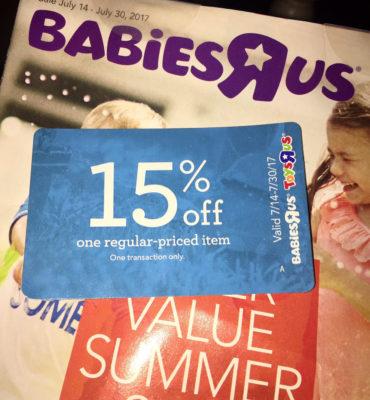 babiesrus 15% off coupon