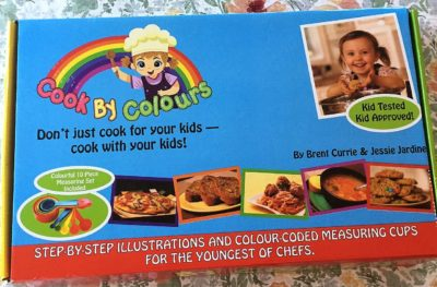 Cook By Colors cookbook