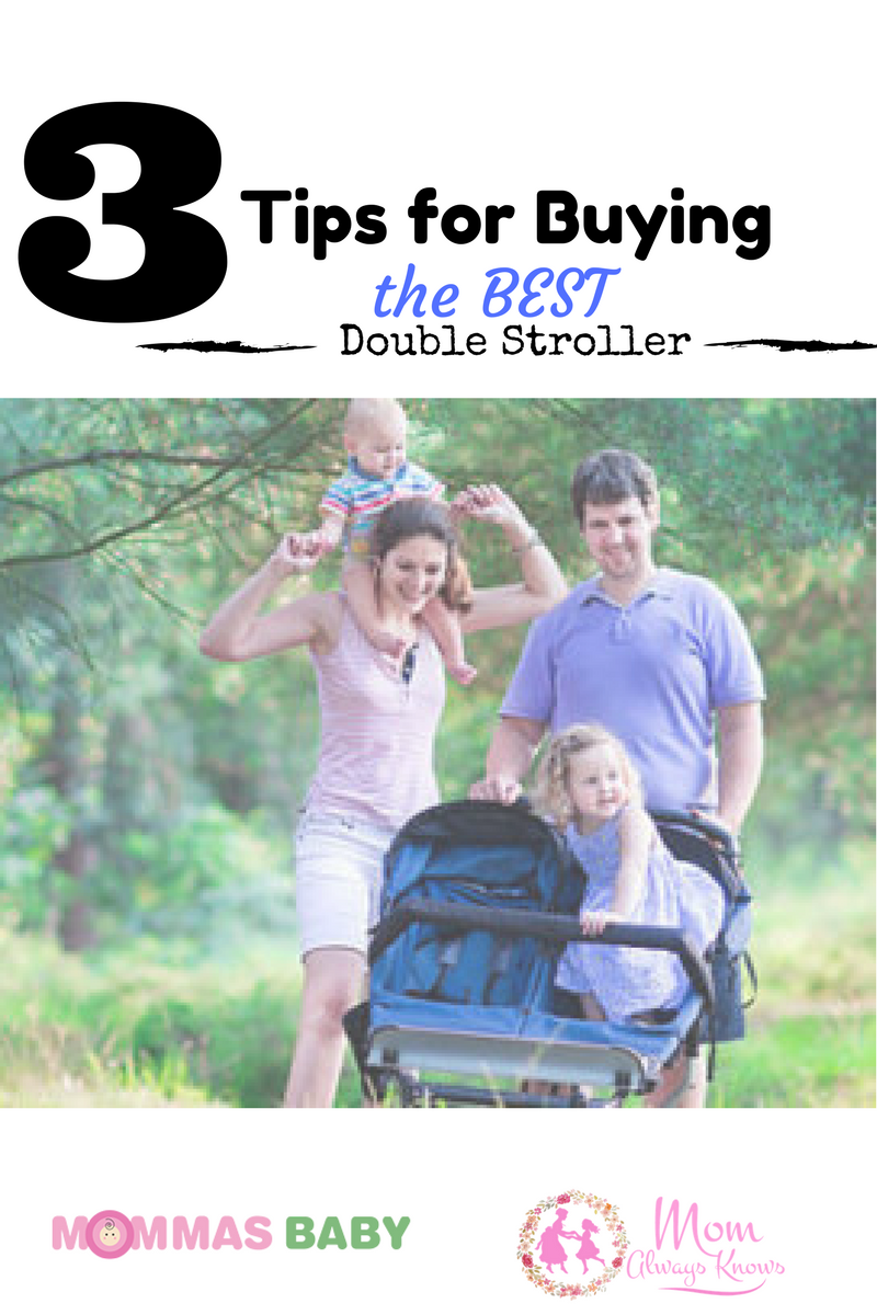3 Tips for Buying the Best Double Stroller