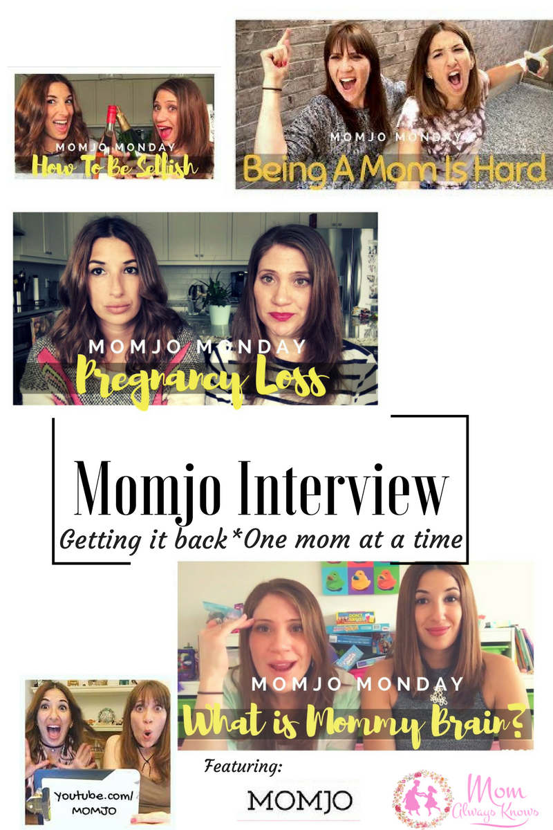 MOMJO Interview- Getting It Back- One Mom at a Time