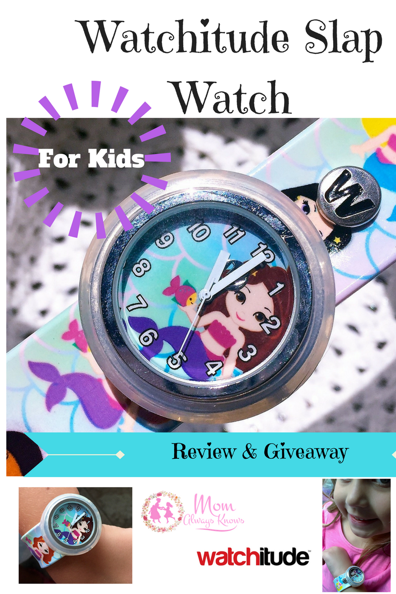 Watchitude Slap Watch Review & Giveaway for Kids