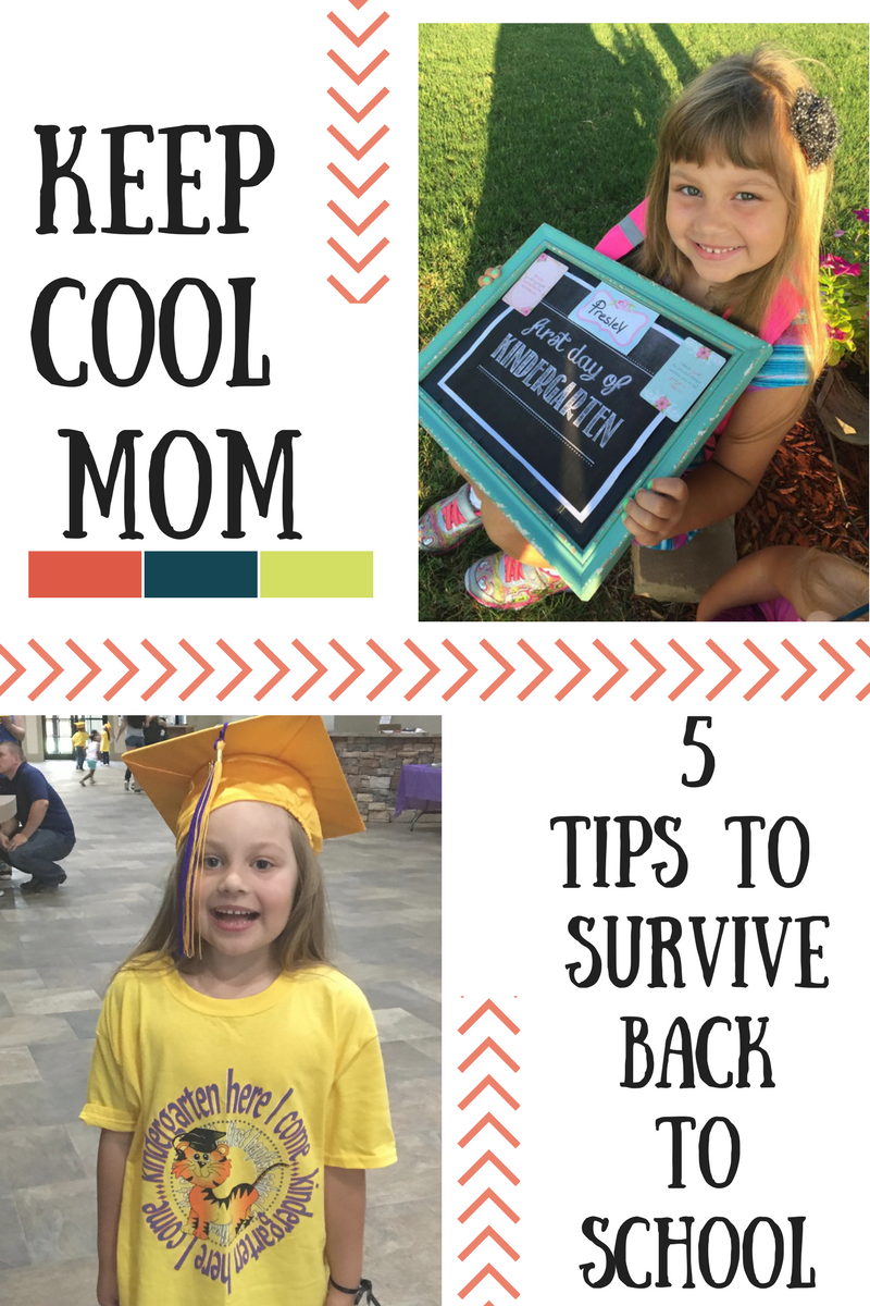 Keep Cool Mom- 5 Tips to Survive Back to School for Busy Moms