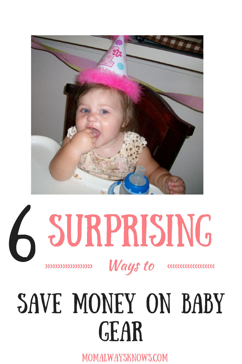 save money on baby gear