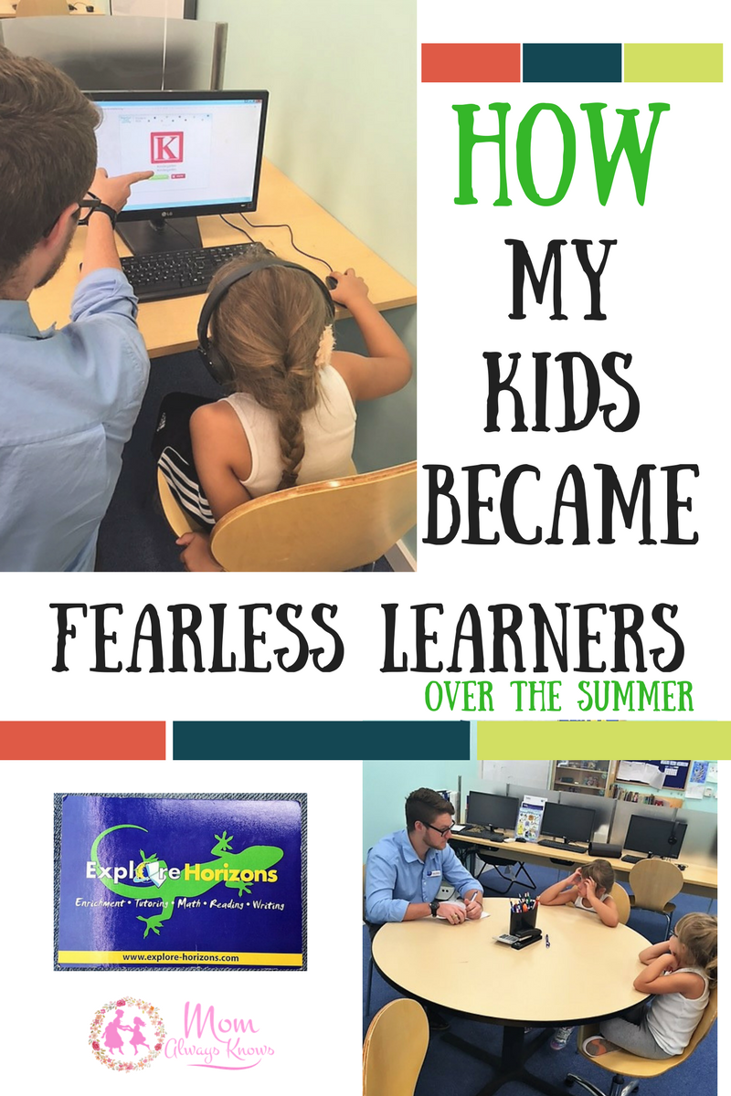 How My Kids Became Fearless Learners over the Summer