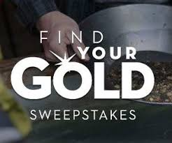 find your gold sweepstakes