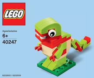 free lego dinosaur