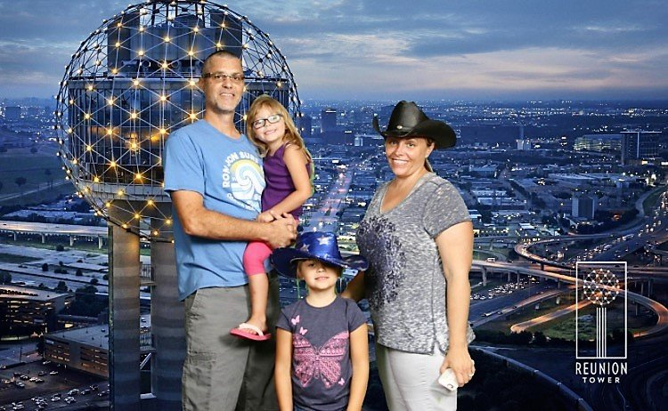reunion tower photo opp
