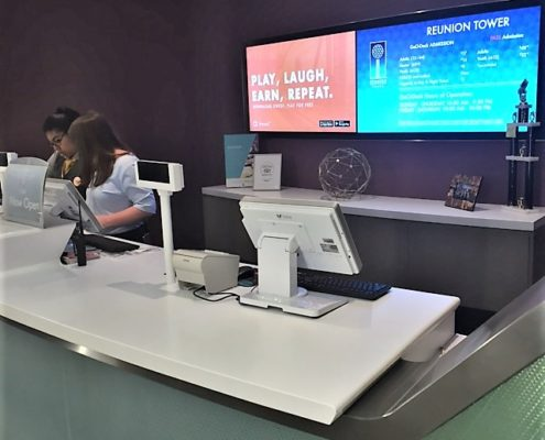reunion tower front desk