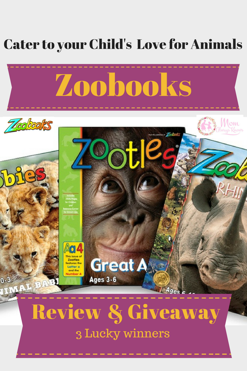 Zoobooks- Cater to your Child's Love for Animals- Review and Giveaway