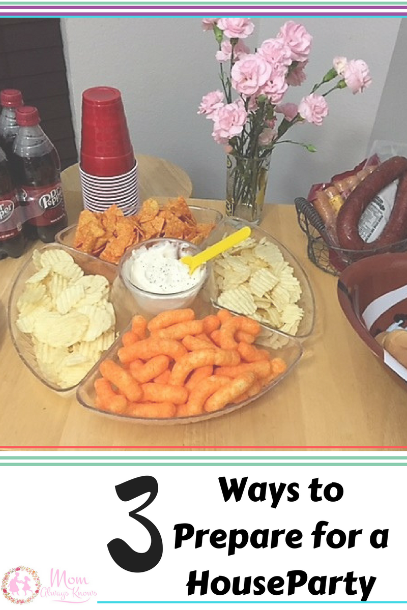 3 Ways to Prepare for a House Party for the Big Game