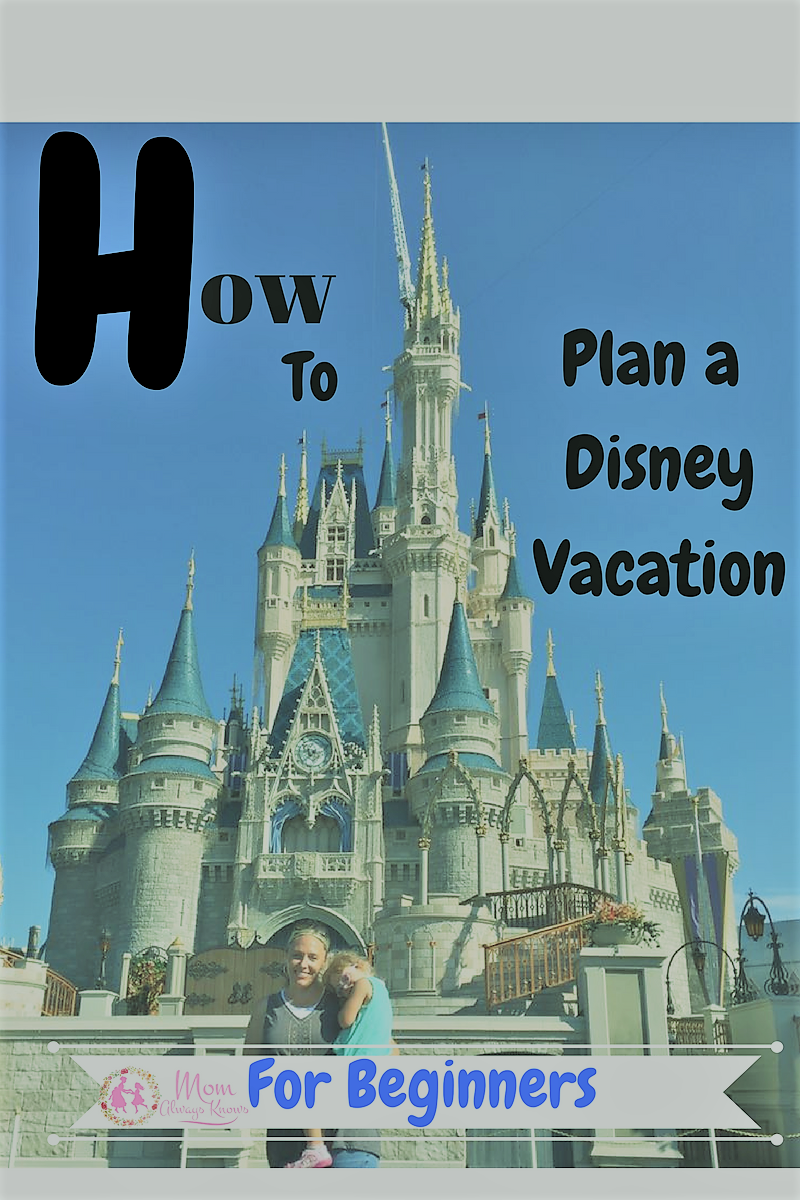 How to Plan a Disney Vacation for Beginners