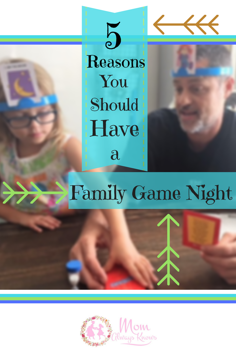5 Reasons you Should have a Family Game Night