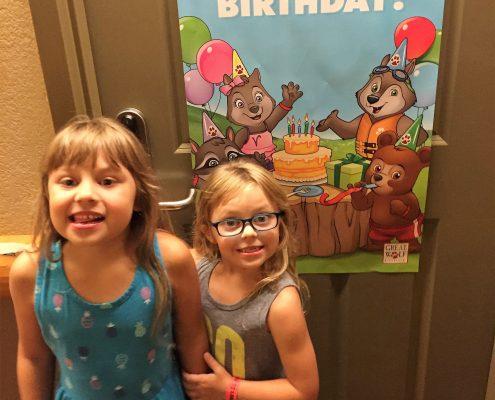 birthday at great wolf lodge