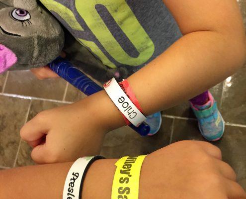 bracelets from great wolf lodge