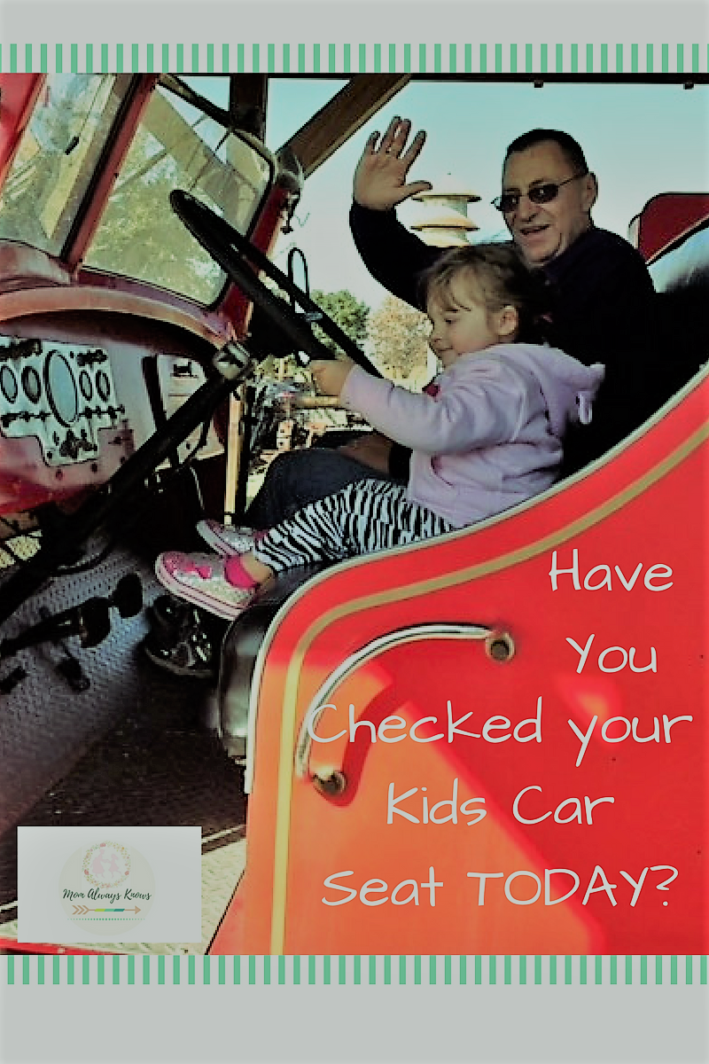 Have you Checked your Kids Car Seat Today?