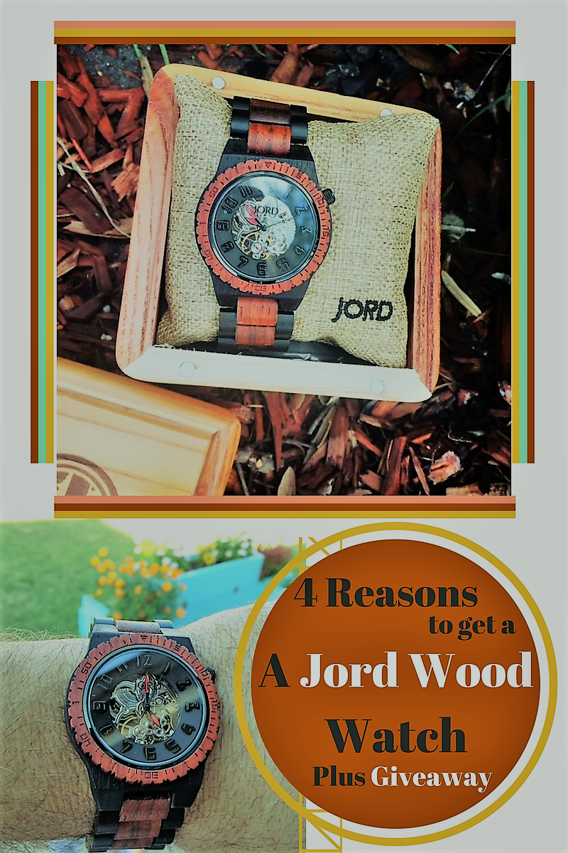 4 Reasons to get Dad (or Mom) a Jord Wood Watch plus Giveaway