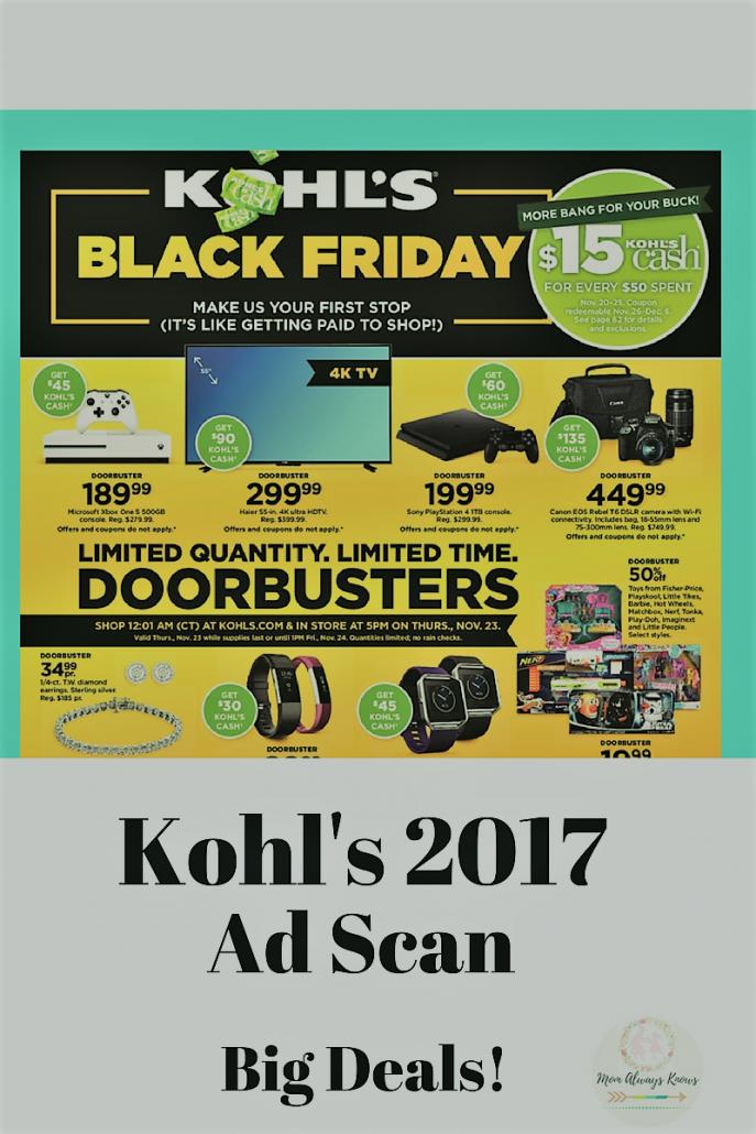 Kohls black friday 2019 coupons