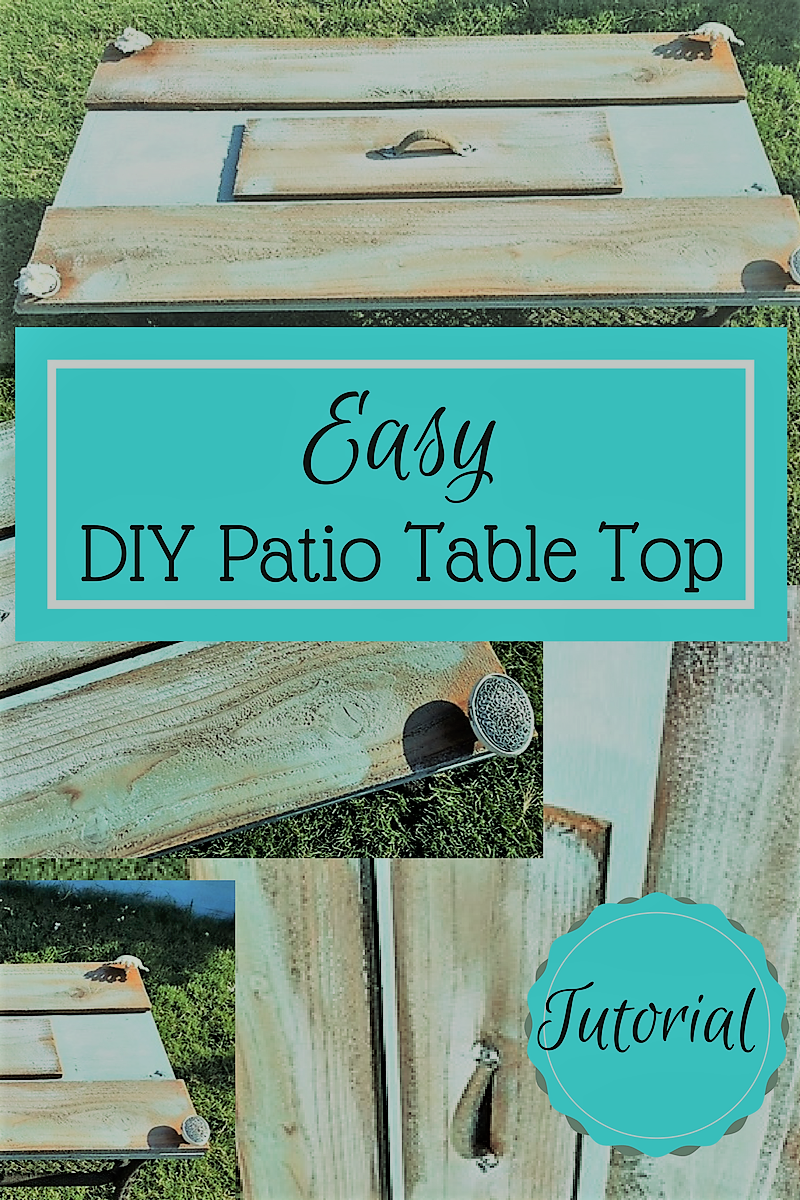 Easy DIY Patio Table Top Tutorial