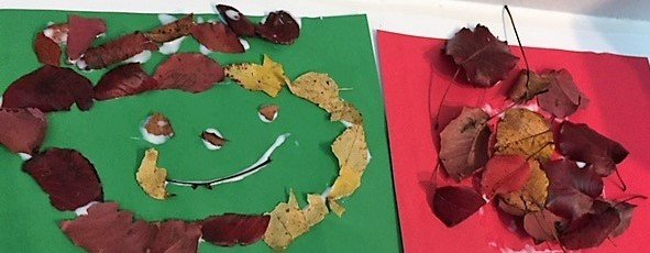Easy Fall Leaf Collage Art Project for Kids