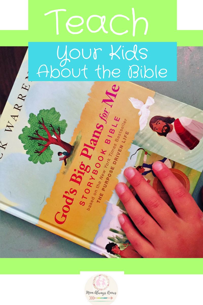 Teach your Kids about the Bible with God's Big Plans for Me Storybook Bible