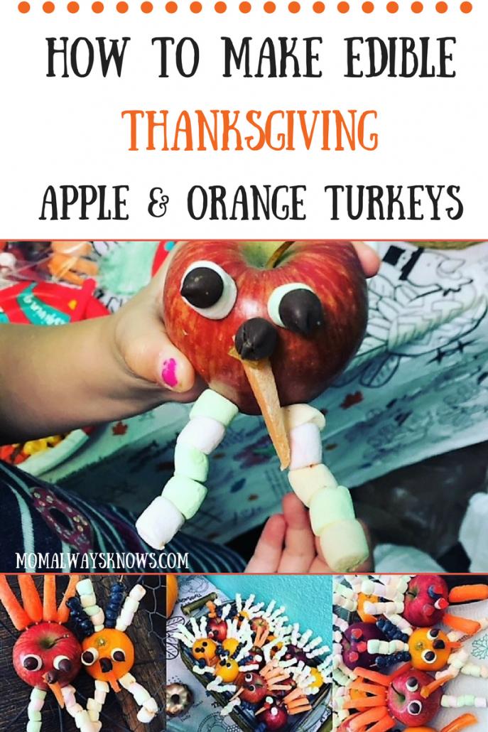 make apple Turkeys