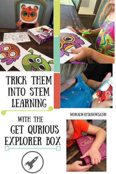 Trick Them Into STEM Learning- Get The Get Qurious Explorer Box