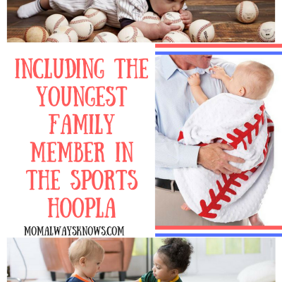 Including the Youngest Family Member in the Sports Hoopla