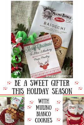 Be a Sweet Gifter This Holiday Season with Mulino Bianco Cookies