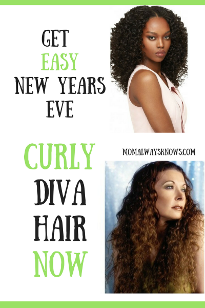 Get Easy New Years Eve Diva Curly Hair Now
