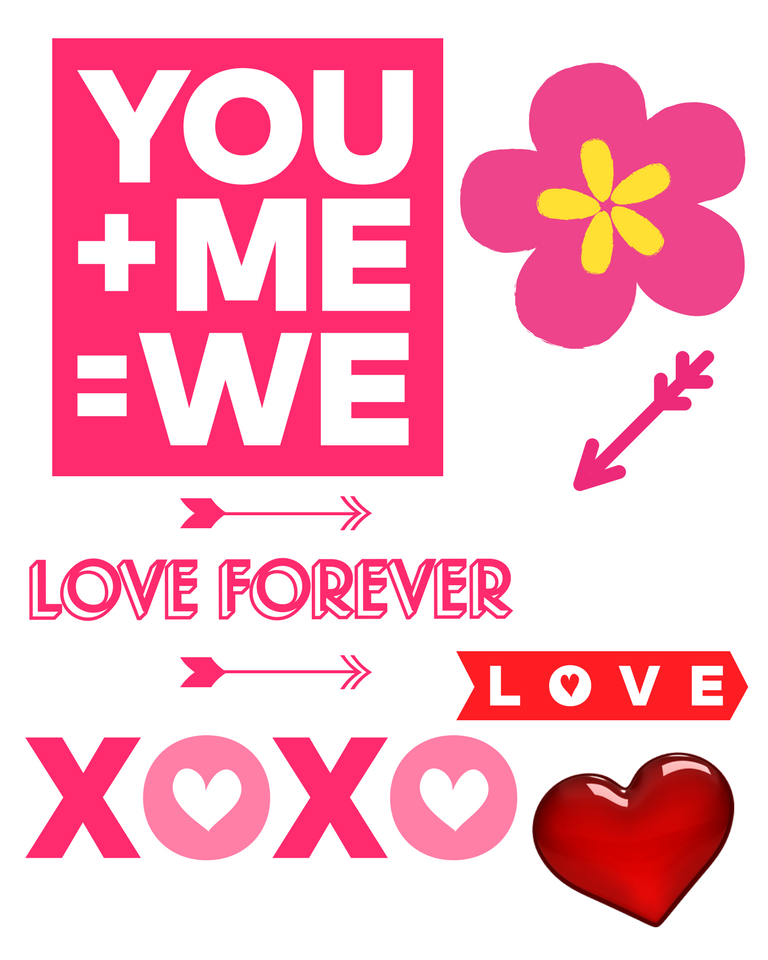 Free Valentines Day printable cut-outs for kids, make your ...