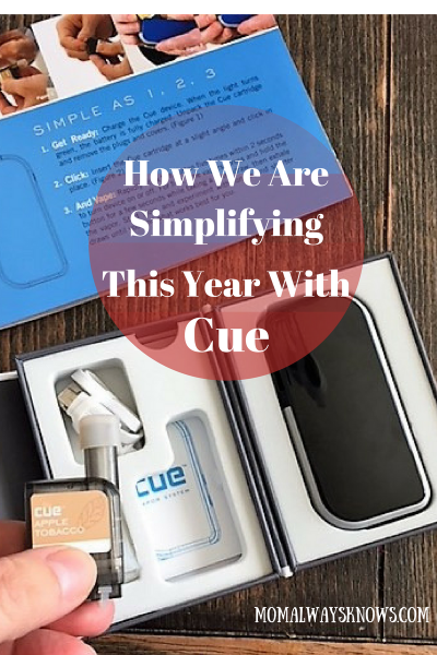 How We Are Simplifying This Year with Cue