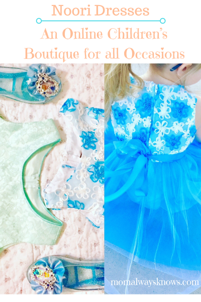 Noori Dresses: An Online Children's Boutique for all Occasions