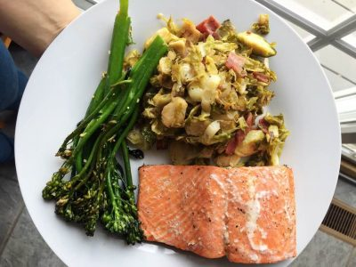 easy salmon recipe dinner