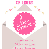 Get a Free Printable Valentines Day Card for Your Child's Teacher or Friend