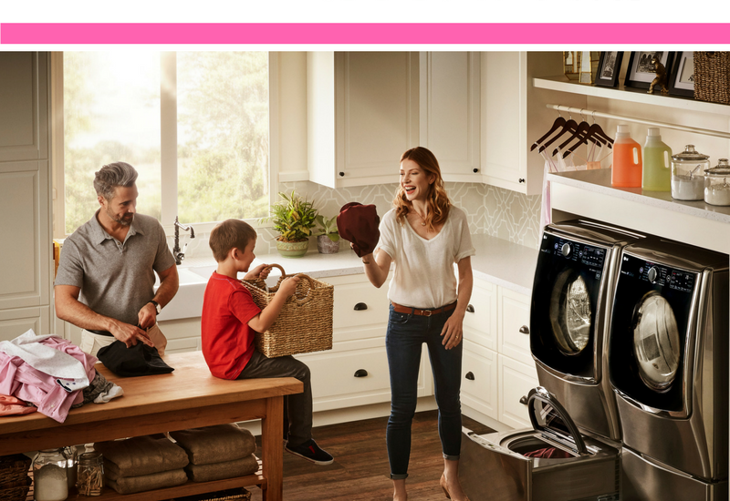 LG WASHING MACHINES FOR FAMILY
