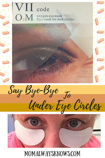 Say Bye-Bye to Under Eye Circles with VIIcode Oxygen Eye Masks