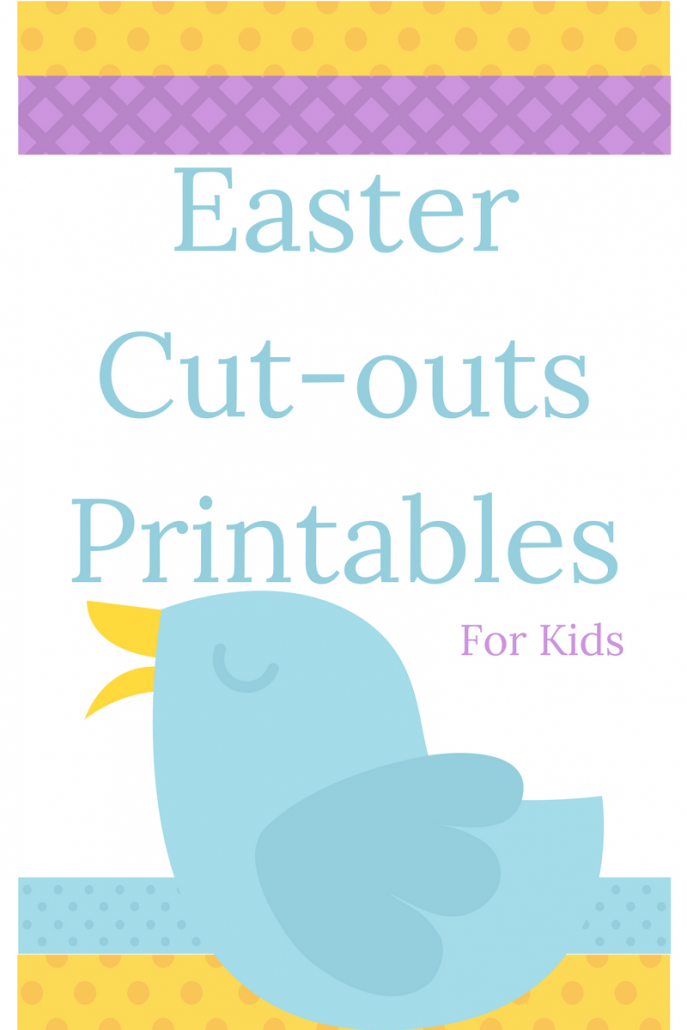 easter cutouts for kids